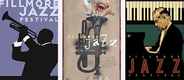Fillmore Street Jazz Festival Posters